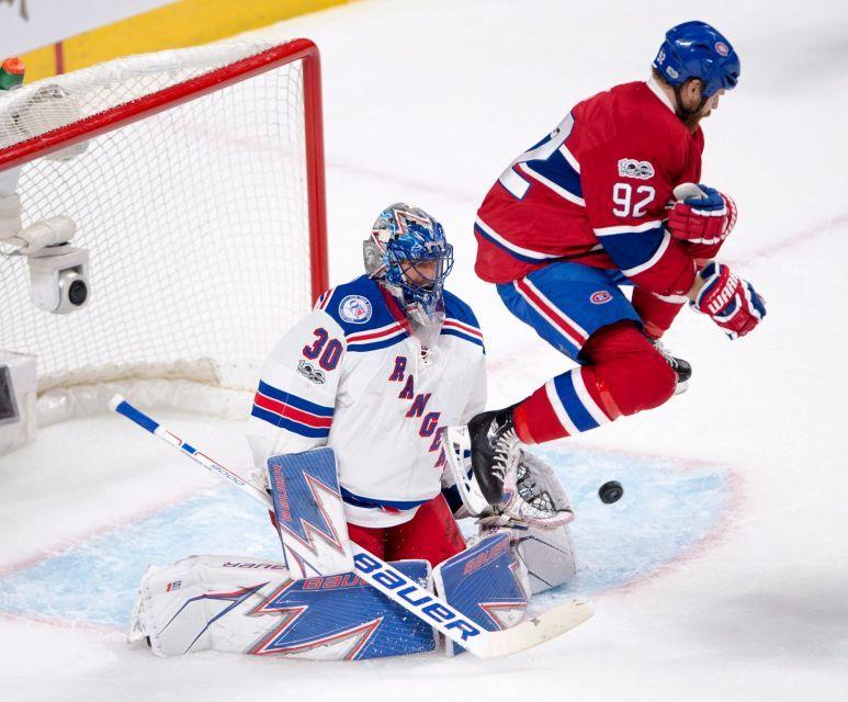 quality design 55268 6e30f Game 1: Rangers vs. Canadiens | Henrick Lundqvist | Hockey ...