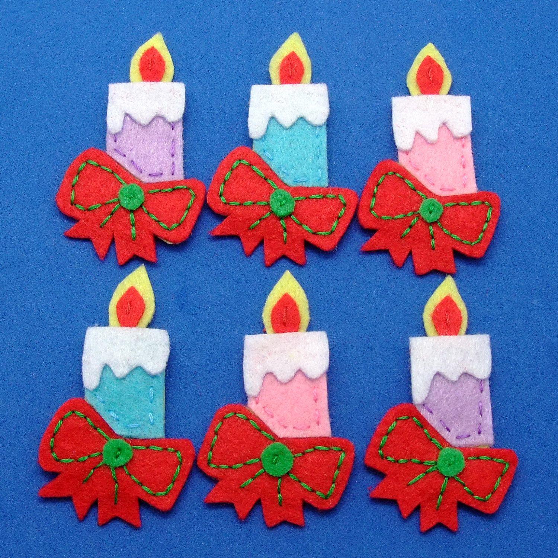 como hacer velas para navidad en fieltro adornos navidad pinterest como hacer velas hacer velas y para navidad