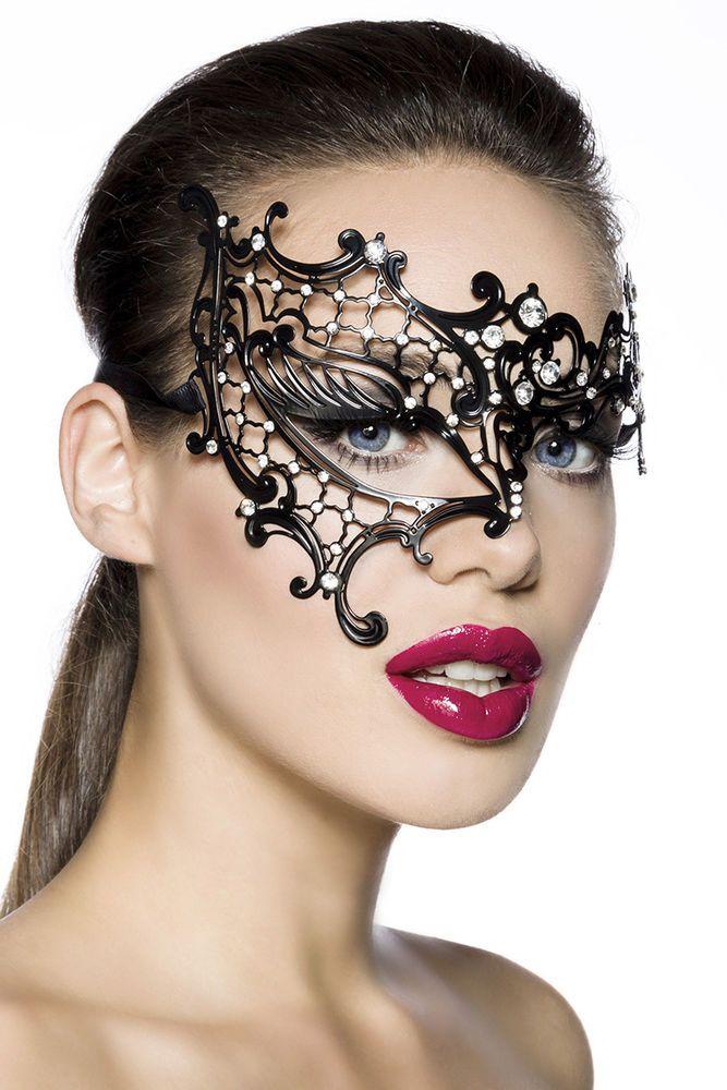 metallmaske gothic barock rokoko fasching karneval maske burlesque goth metallmaske. Black Bedroom Furniture Sets. Home Design Ideas