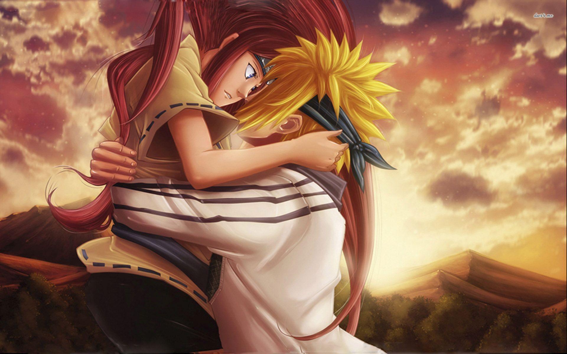 Naruto And Kushina Lovely Naruto Naruto And Sasuke