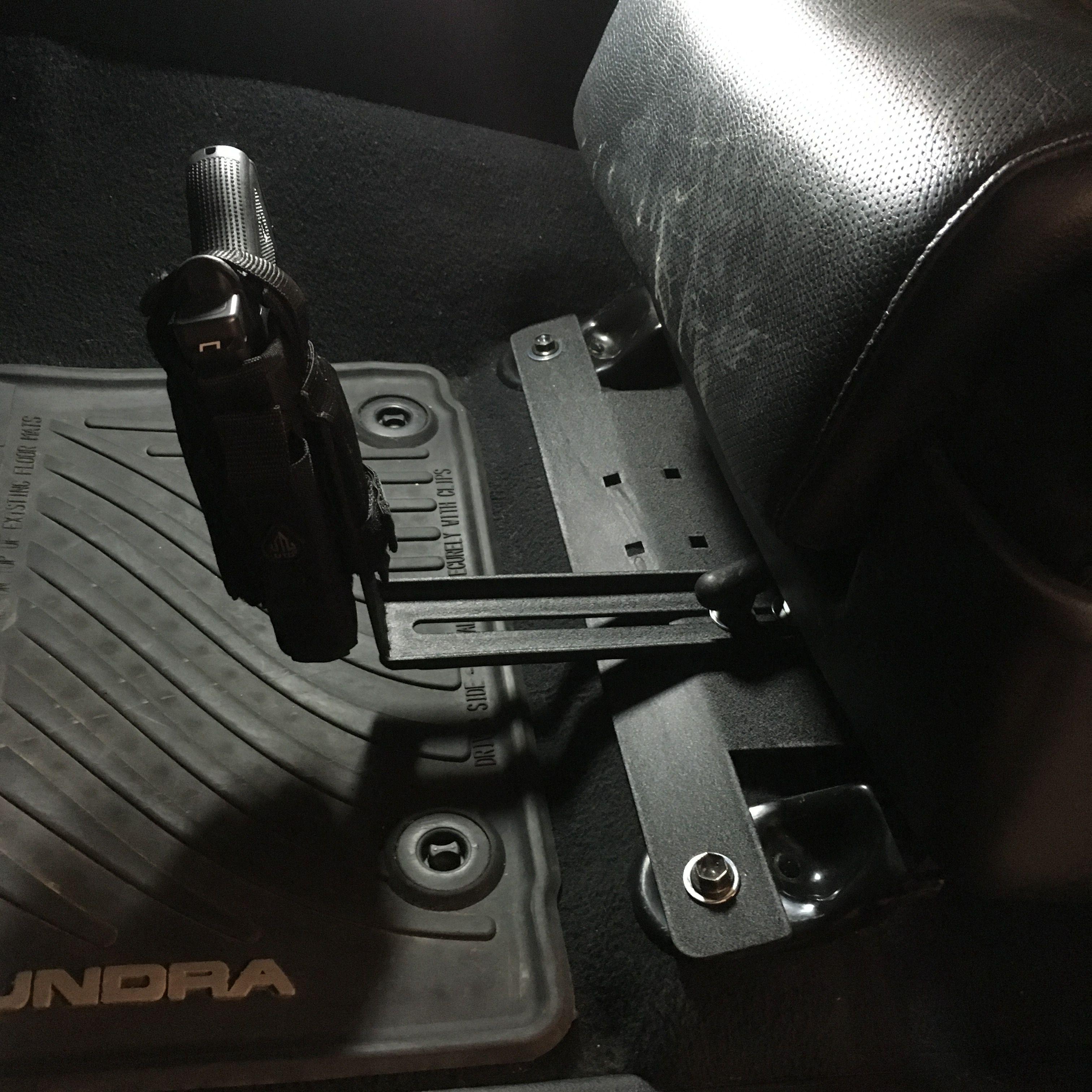 Toyota Tundra Adjustable Pistol Mount Car Storage Pistol Jeep