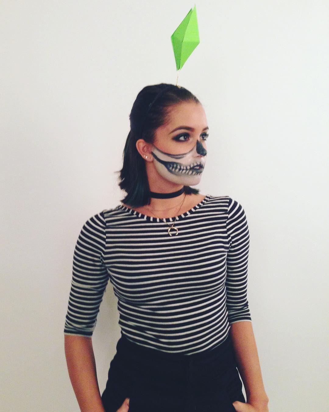 Diy Sim Costume Sims Costume Easy Halloween Costumes Sims Halloween Costume
