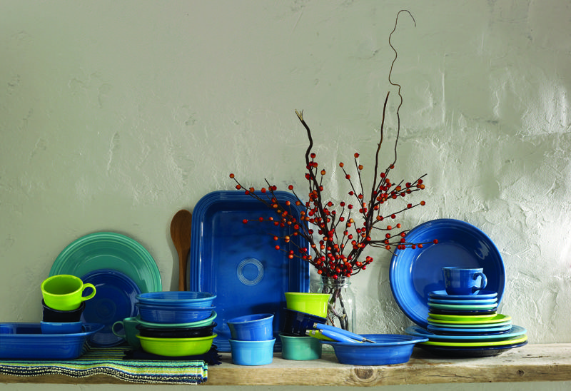 Fall for color with Fiesta Holiday tabletop, Fiesta
