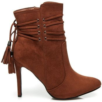 Botki Vices Zamszowe Botki Boho Feliciana Boots Ankle Boot Shoes
