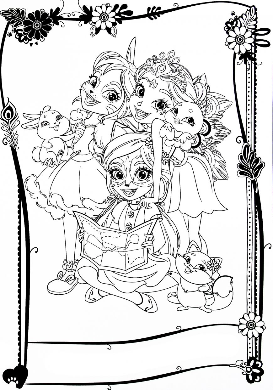 Enchantimals New Free Printable Coloring Pages Love Coloring Pages Poppy Coloring Page Cute Coloring Pages