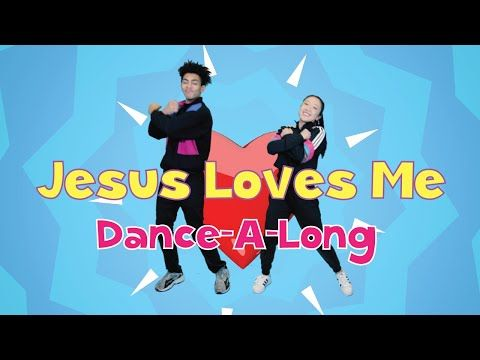 Jesus Loves Me Remix |@CJ and Friends Dance-A-Long with Lyrics |@Listener Kids Music - YouTube