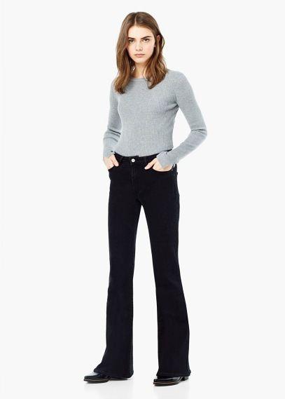 Jeans high waist Flare