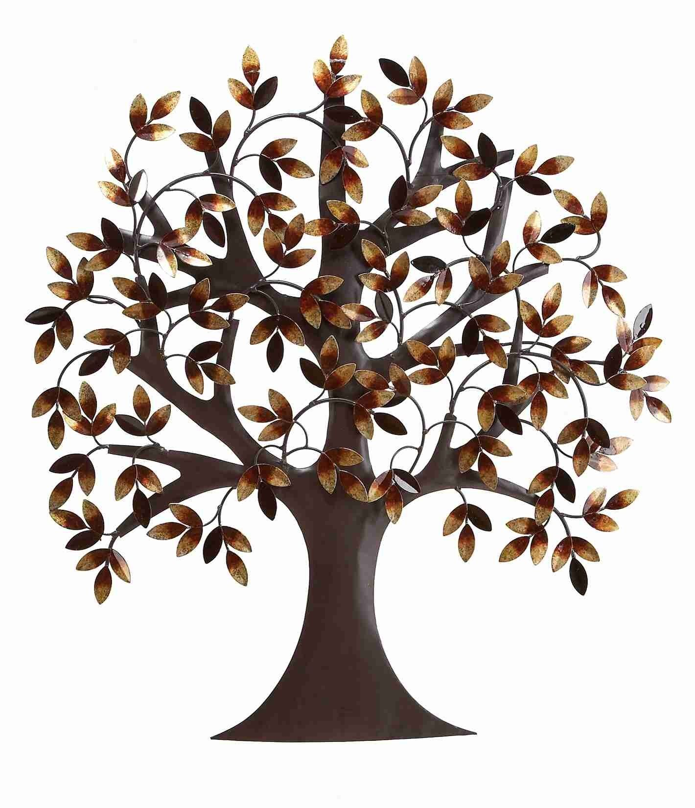 Uma enterprises metro elite metal tree wall décor for the home