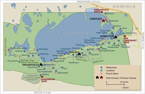 Etosha Map