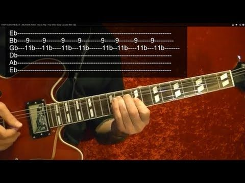 Pink Panther Theme Guitar Lesson With Tabs Youtube Guitar