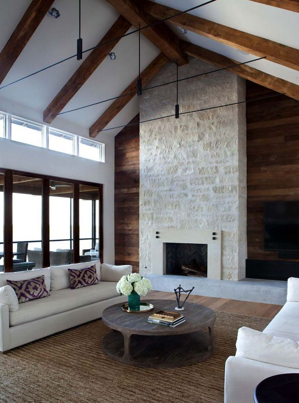 Gorgeous 20 Rustic Lake House Decorating Inspiration Https Homegardenr Com 20 Rustic Lake House Dec Farm House Living Room Modern Lake House Lakehouse Decor #rustic #lake #house #living #room