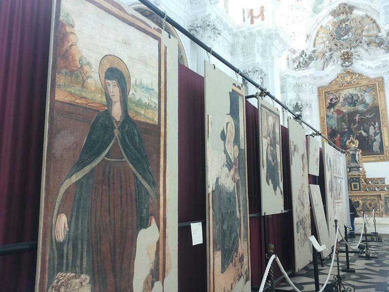 Stacchi d'affreschi in quel di Santa Teresa, culti e contamin/azioni .. #Sicilying