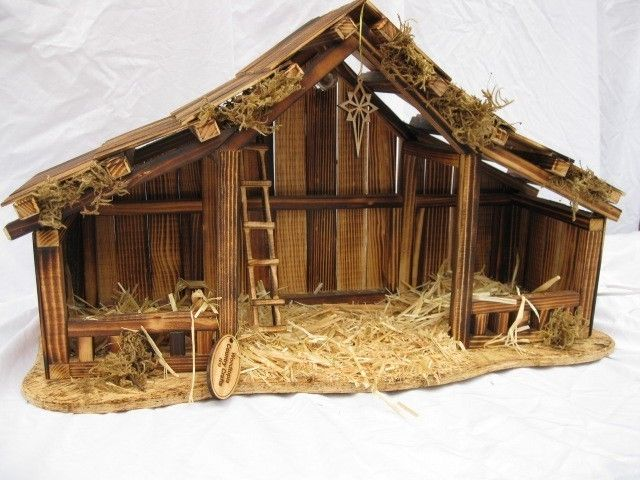 how to set up willow tree nativity scene