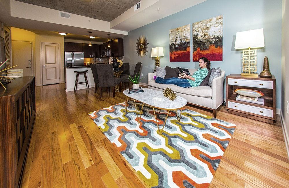 Apartments In Downtown Houston Skyhouse Houston Houston Tx Spacious Living Room Living Room Interior Apartments For Rent