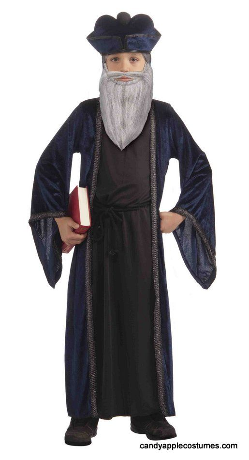 0b669f5d016 Child s Nostradamus or Galileo Costume - Candy Apple Costumes - Deluxe  Costumes