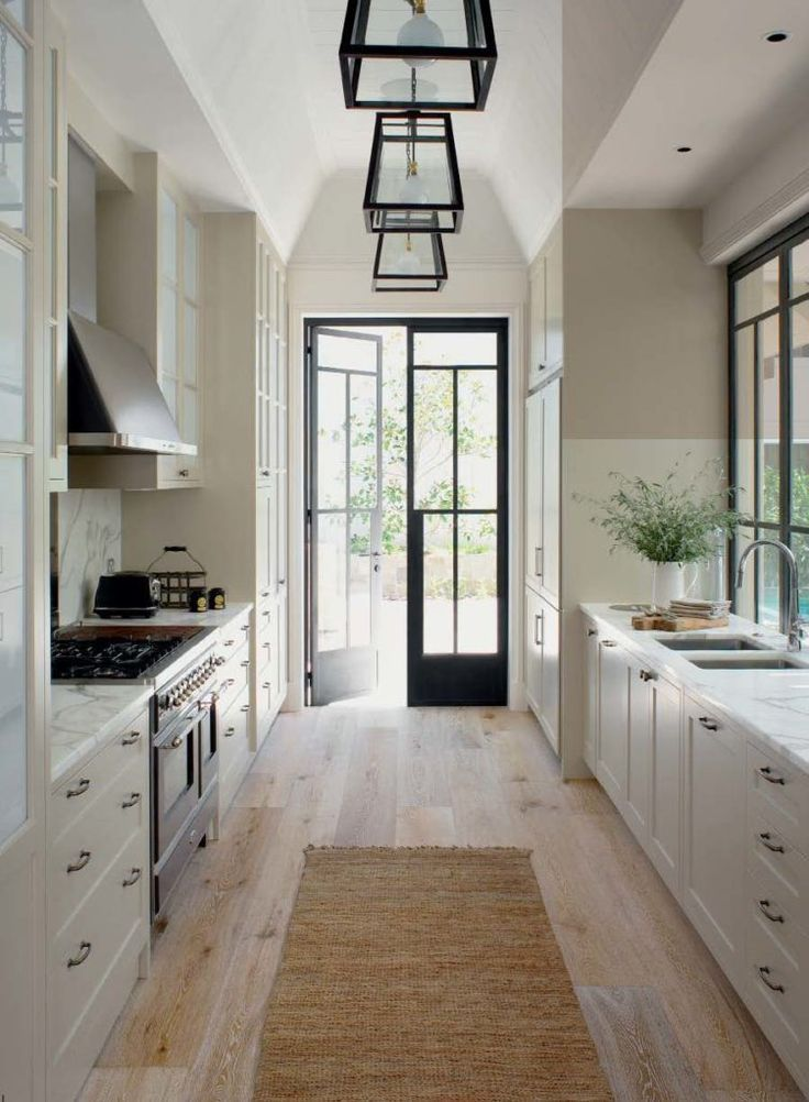 15 ways to bring personality into your galley kitchen home remodeling galley kitchen remodel on kitchen remodel modern farmhouse id=59186