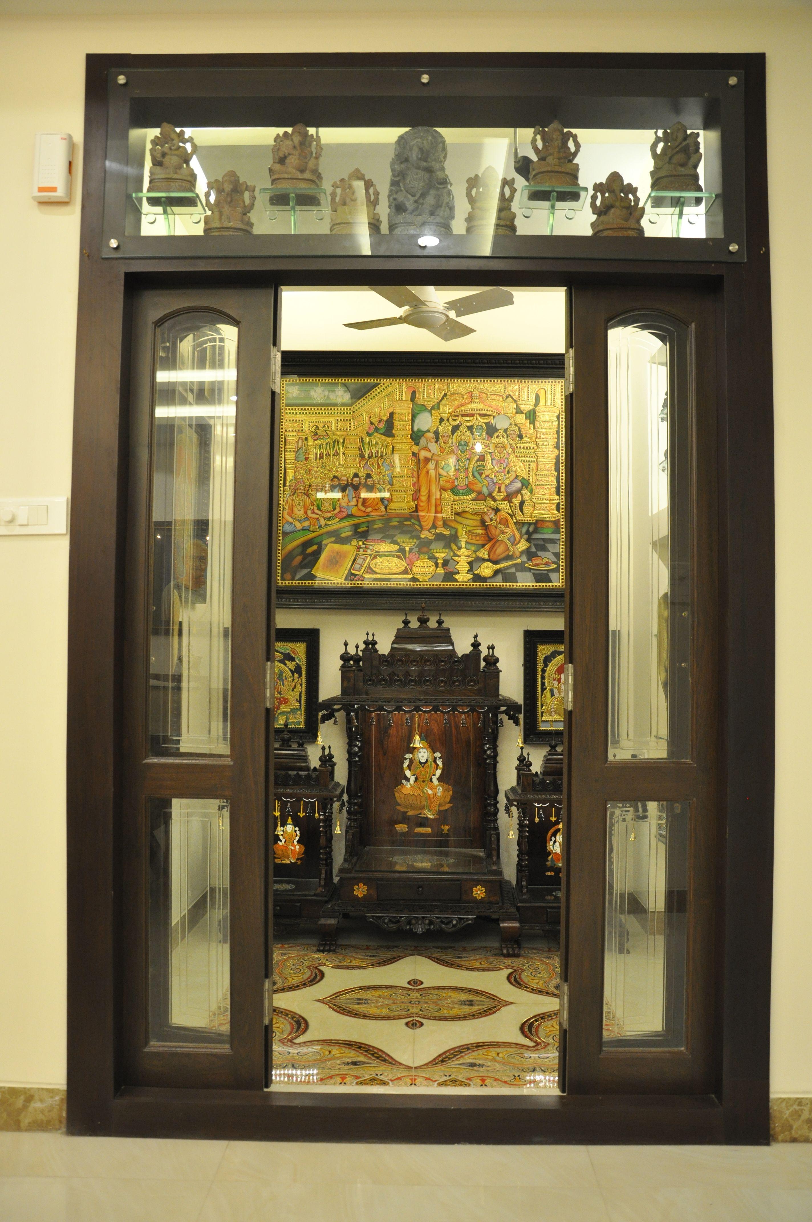 Puja Room Interior Designs Pooja Room Door Design Interior Room