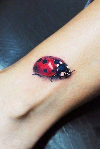 Simple Ladybug Tattoo Lady Bug Tattoo Small Tattoos Ladybird
