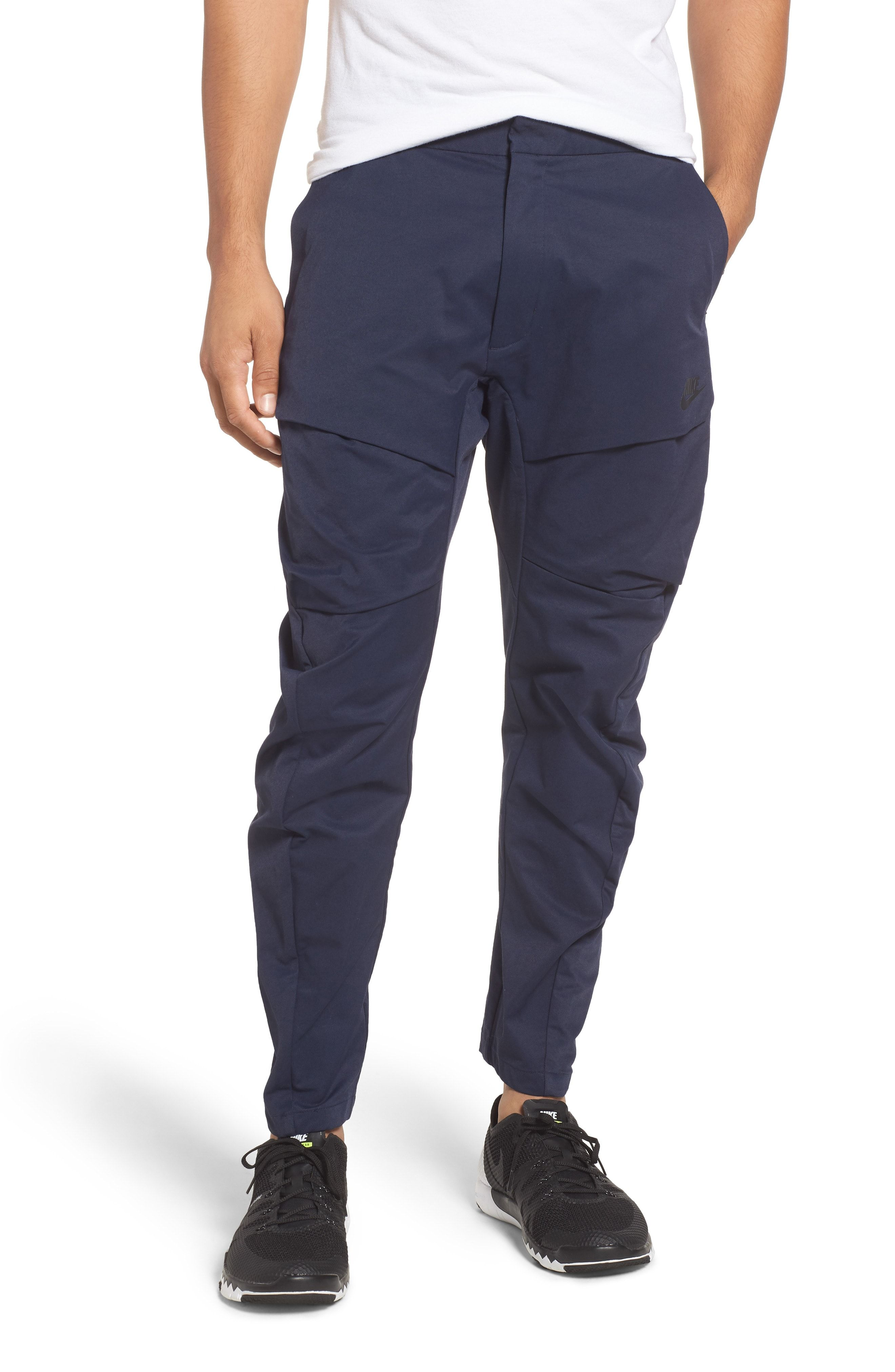 Nike Tech Pack Cargo Pants In Obsidian/ Black ModeSens