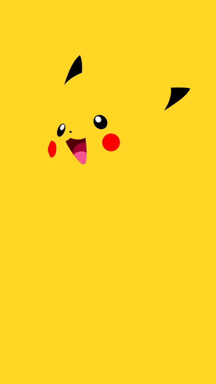 pikachu-flat-iphone-6-wallpaper | pokemon | pinterest | wallpaper