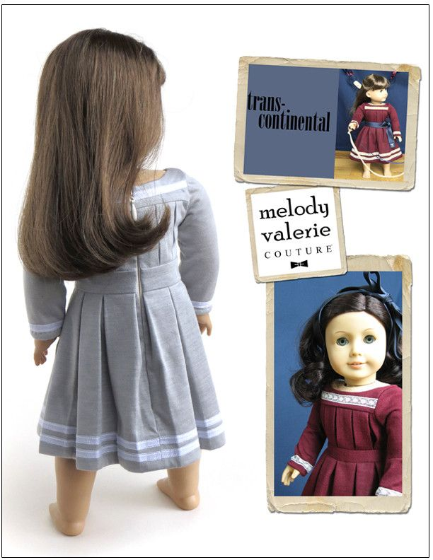 "Transcontinental Dress 18"" Doll Clothes 
