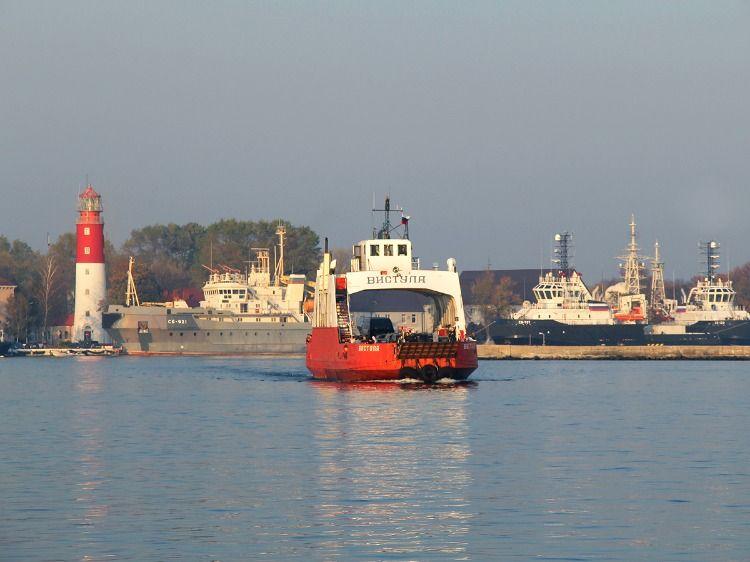 Паром через Балтийский пролив