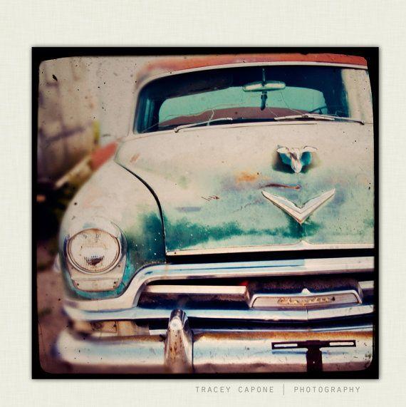 Vintage Car   Boys Room Wall Art, Retro Car Photography   Betty Sue   Man