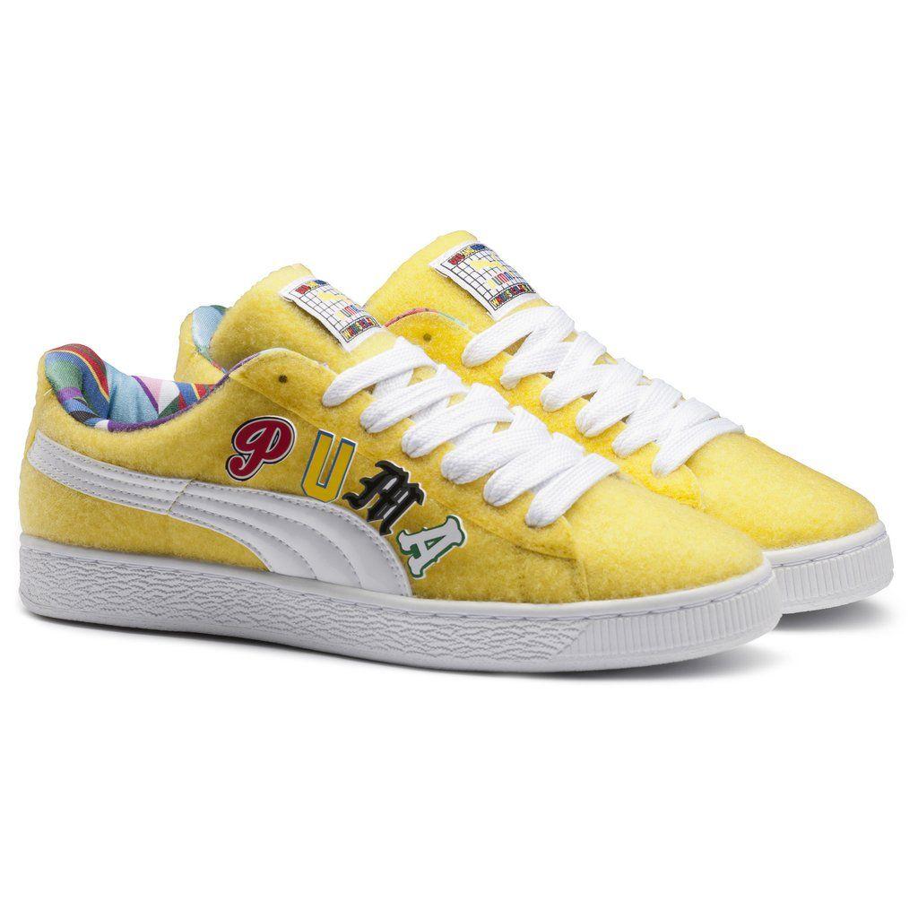 Puma Basket Sneaker (Women's) Velcro