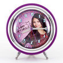 Stylish and Trendy Nickelodeon VICTORIOUS Purple Alarm Clock