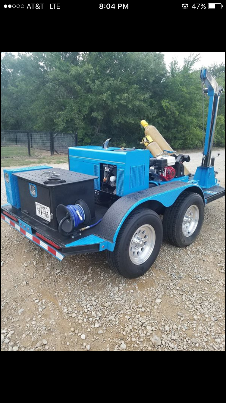 Miller welding trailer | Project Development in 2019