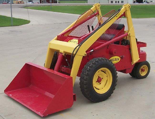 bobcat melroe m610 skid steer | second melroe model was the