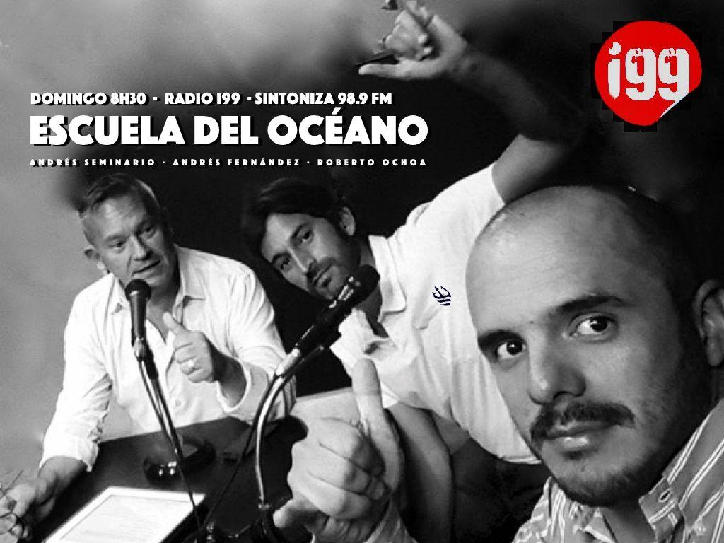 Este domingo arranca la Escuela del Océano por Radio i99. · DOMINGO 8H30 por 98.9 FM · Acompáñenos
