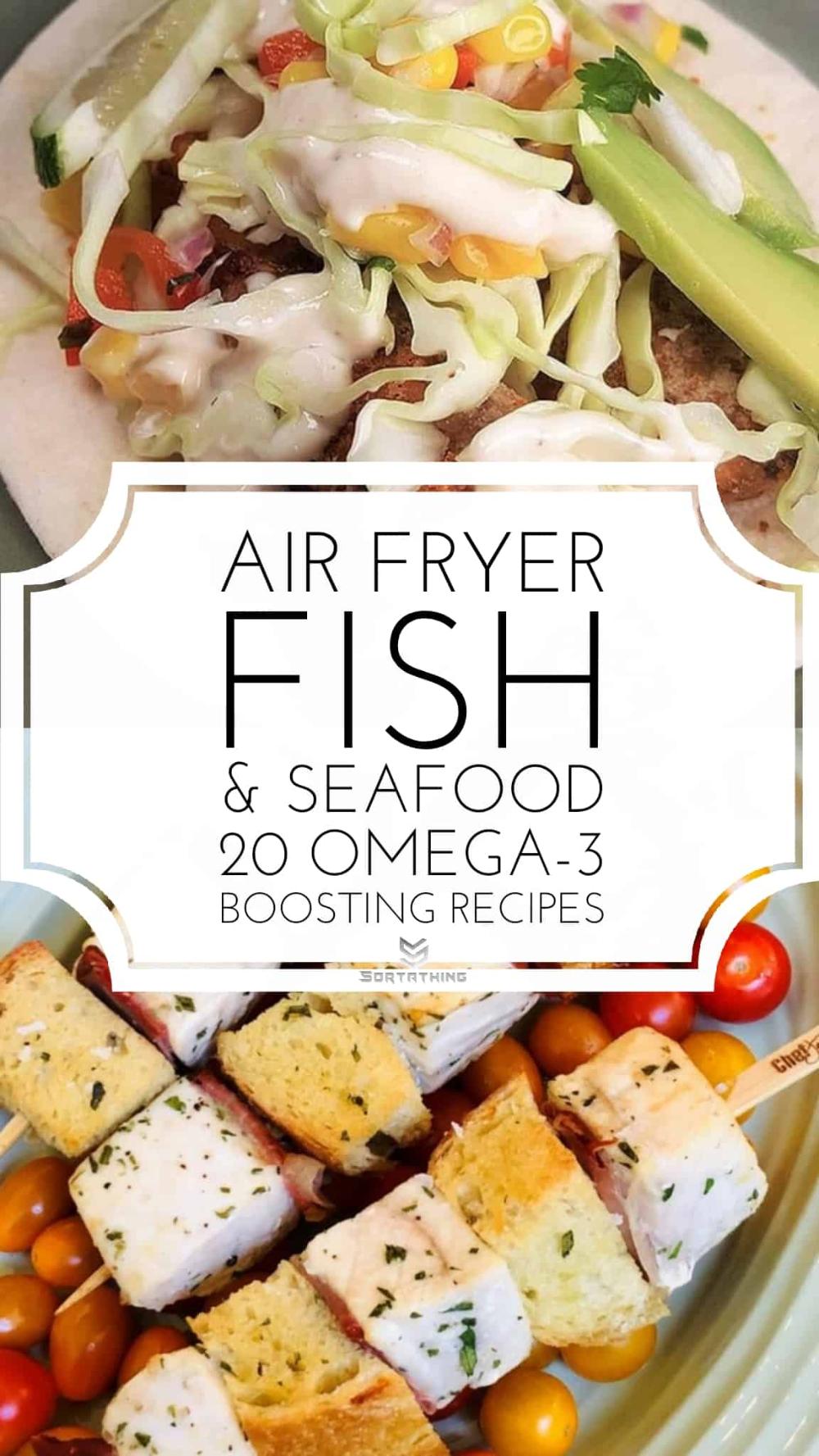Air Fryer Fish Recipes 20 Omega3 Boosting Seafood