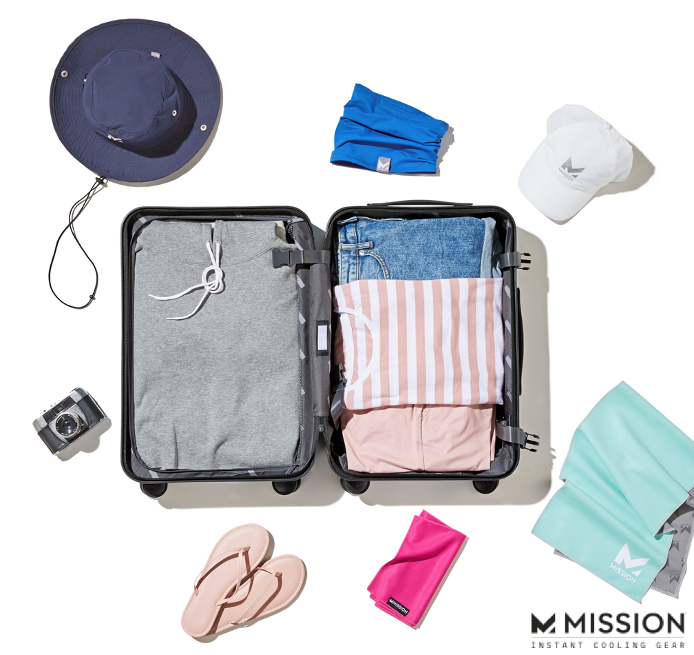 Stock Up On Mission Cooling Gear Before Your Next Beach Vacation