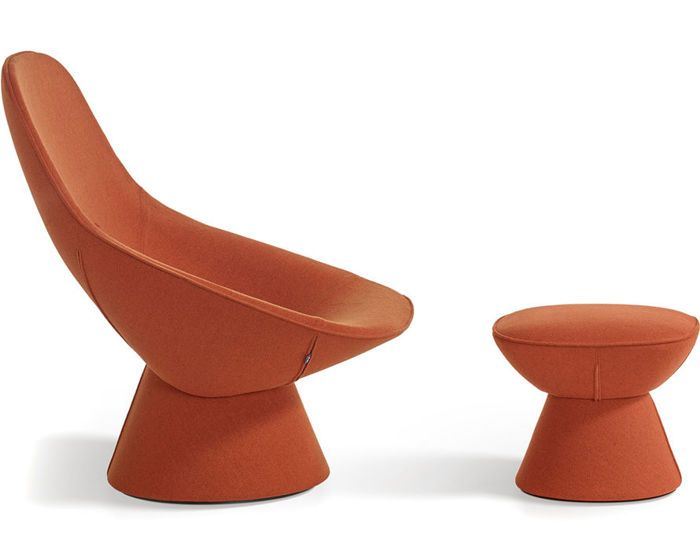 Pala lounge chair & ottoman