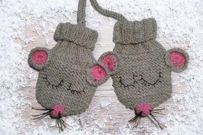 Handschuhe Für Babies Und Kleinkinder Babys Pinterest Stricken