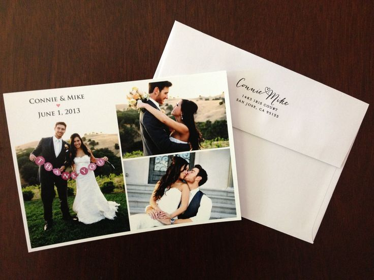 Diy Wedding Thank You Cards Diy Wedding Thank You Cards Wedding