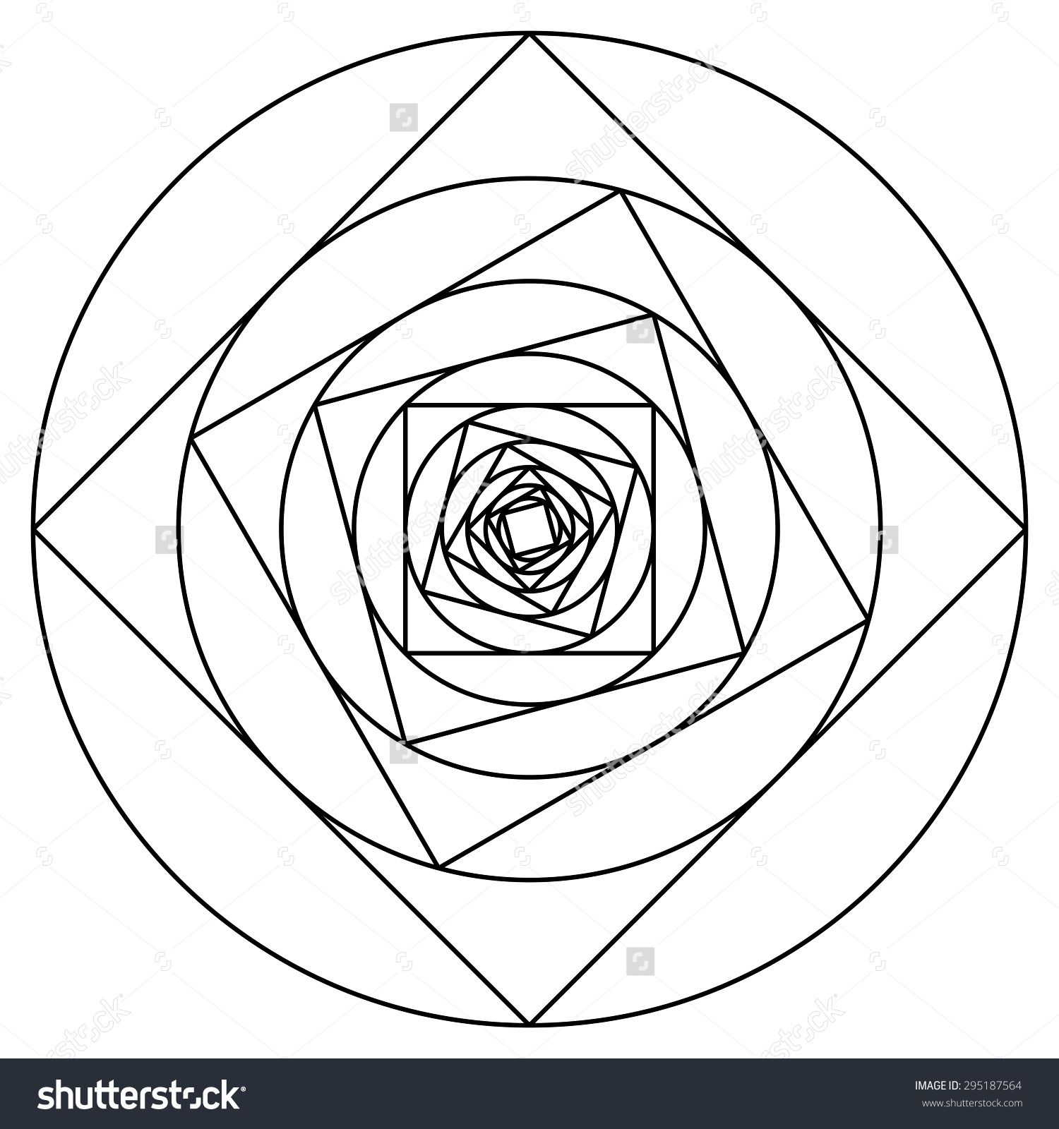 how to draw a fractal spiral - Google Search | Quilt Inspiration ...