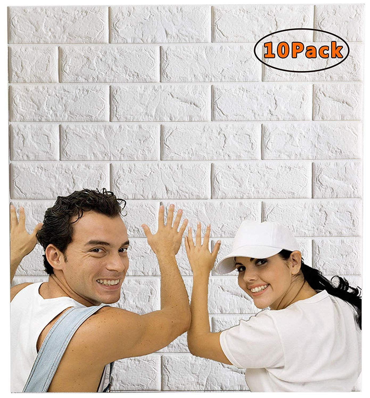 Wallpaper Background Wallpaper Living Room 3d Wall Panels 3d Brick Wallpaper