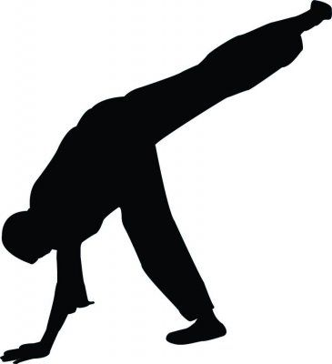 Freestyle Break Dance Silhouette - 29 : Custom Wall Decals, Wall Decal Art, and Wall Decal Murals | WallMonkeys.com