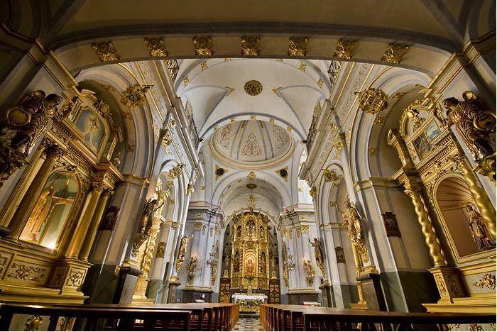 Interior santuario de la virgen de la vallivana morella - Interior de castellon ...