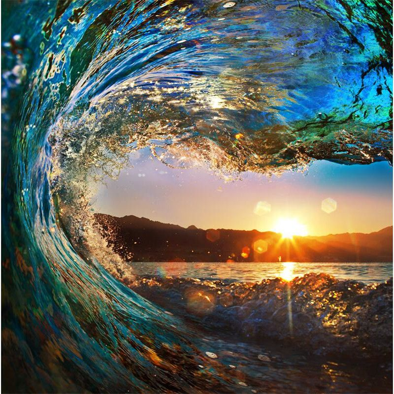 Barato foto papel de parede de alta qualidade de surf for Papel de pared barato