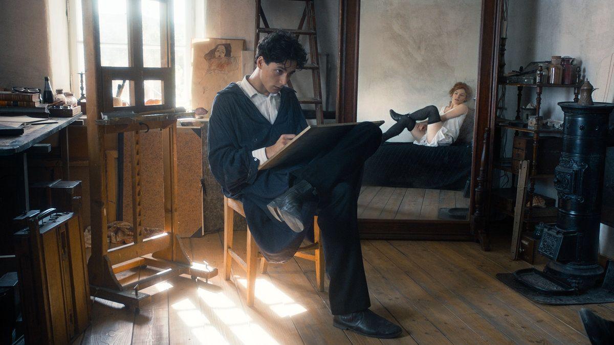 Schiele - der Film Erotik in Bildern - Kurier