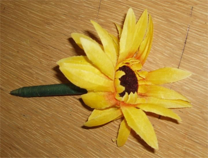 flower pen craft