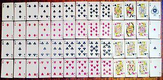 jeu de carte 52 Jeu de 52 cartes — Wikipédia   Playing card deck, Deck of cards, Cards