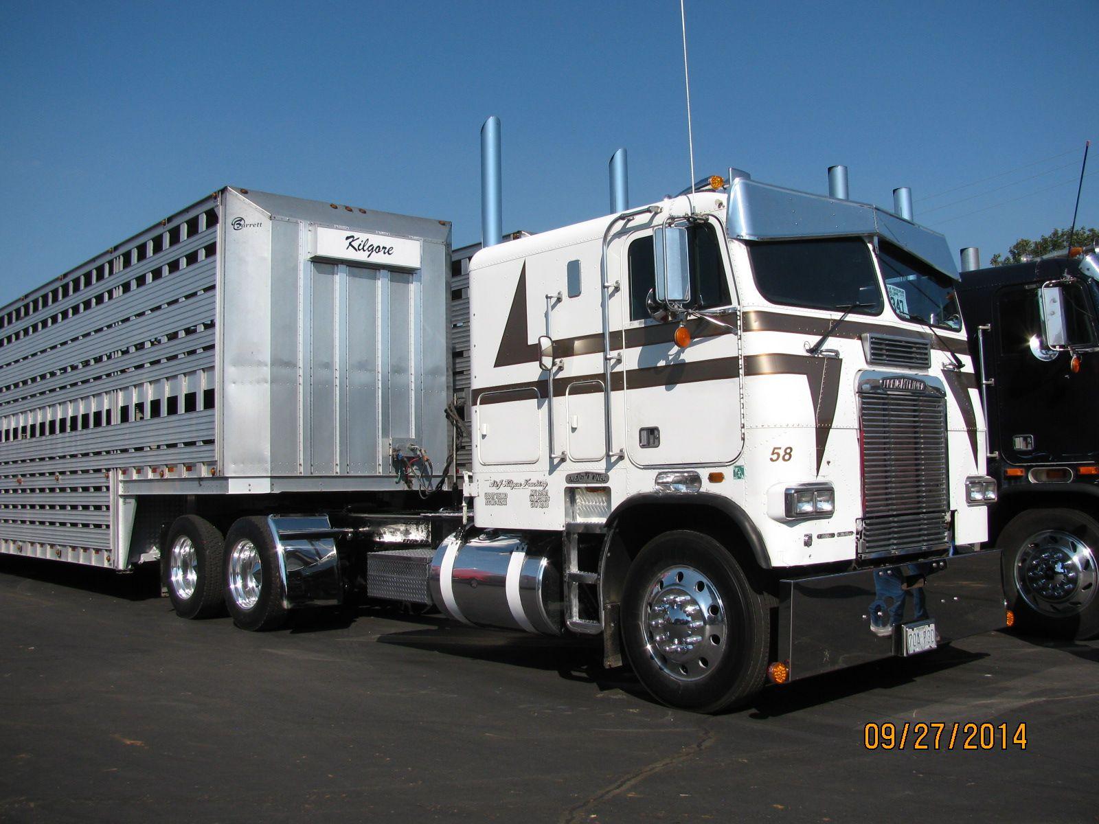 cow limo Big trucks, Trucks, Freightliner trucks