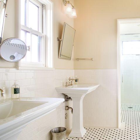 cream colored wall | trendy bathroom designs, bathroom