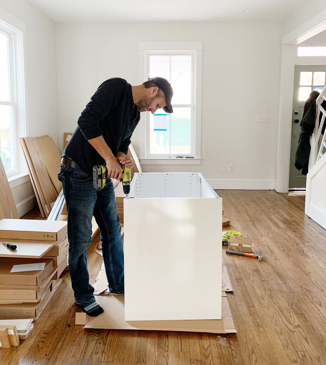 Tools Tricks For Installing An Ikea Kitchen Yourself Young House Love In 2020 Ikea Kitchen Kitchen Tools Design Ikea Kitchen Remodel