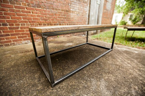 2nd Story Wood Co. Burley Belt Coffee Table :: beautiful furnishings made from century old reclaimed wood (Charlotte)