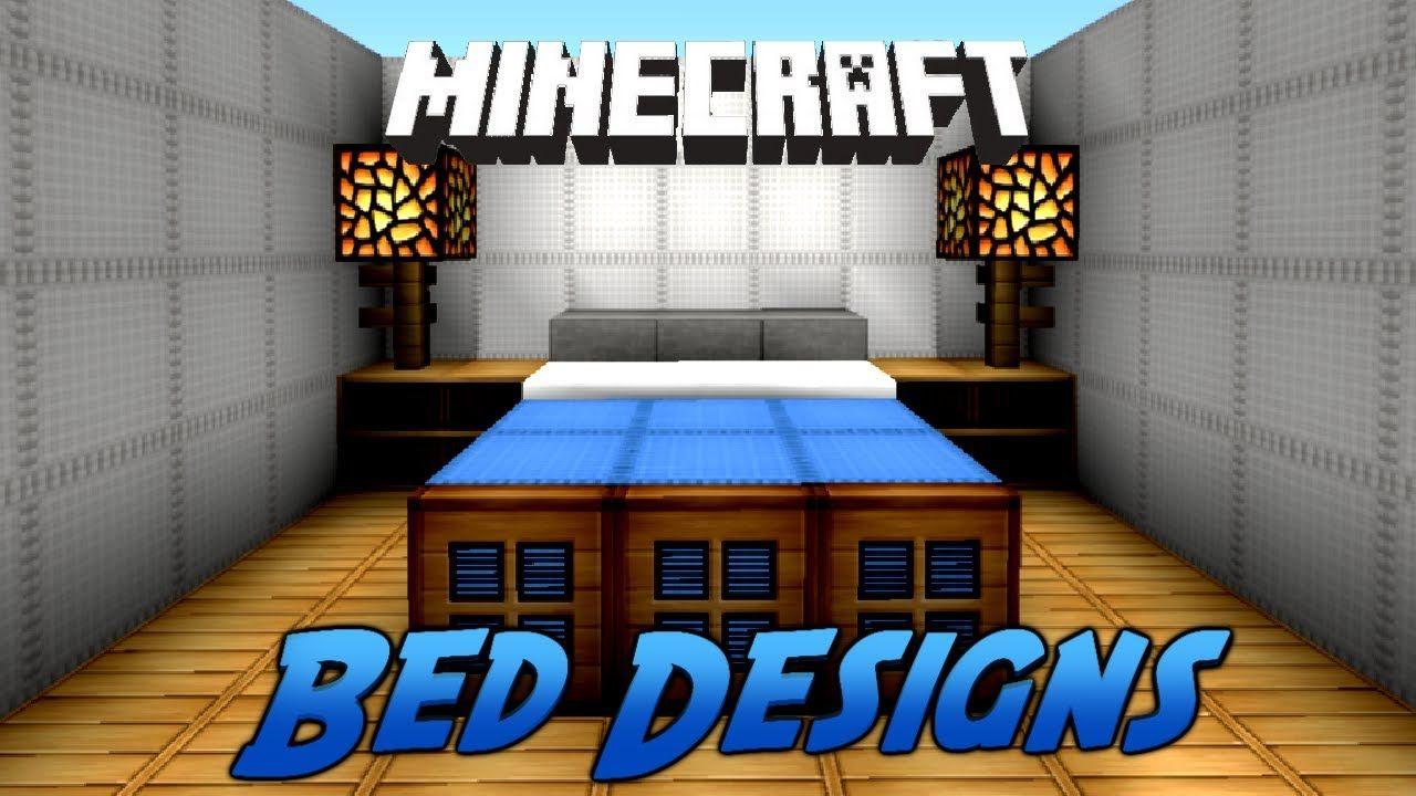 Creative Minecraft Beds  Trendminicraft  Minecraft Interior Adorable Minecraft Interior Design Bedroom Decorating Inspiration